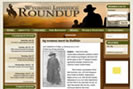 Professional website designers created Wyoming Livestock Roundup website